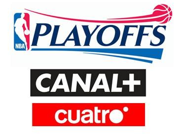 Horarios Playoffs NBA Canal+ y Cuatro