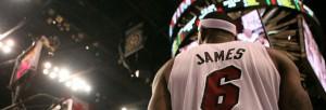 LeBron James, puede que sea pero no es