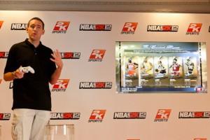 Erick Boenisch, productor del videojuego NBA 2K12