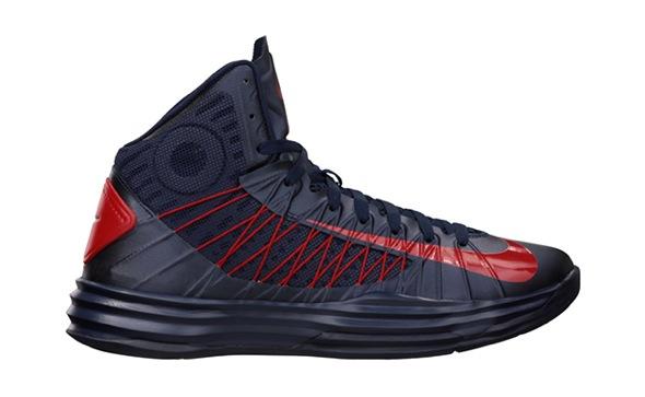 Nike Hyperdunk USA away Obsidian/University Red