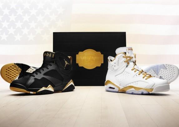 Air Jordan Golden Moments Pack