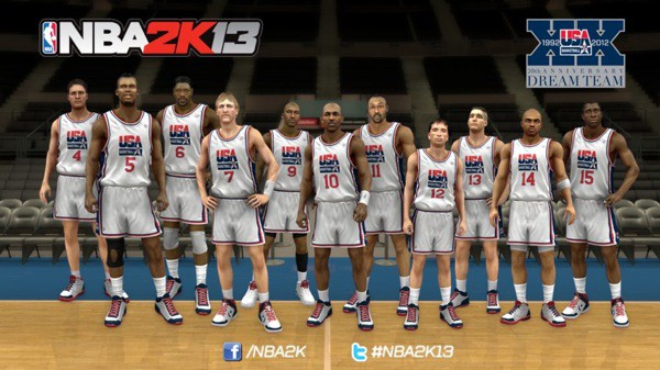Dream Team NBA 2K13