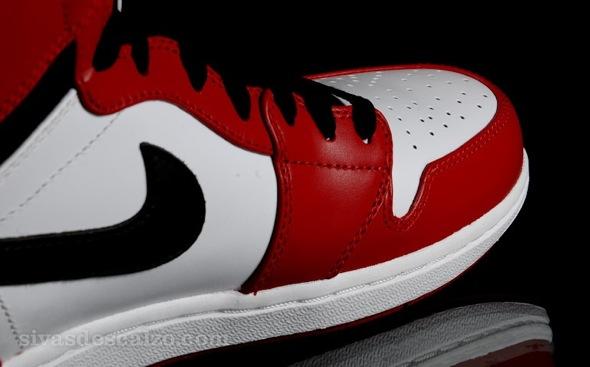 Sivasdescalzo nike air jordan 1 retro high white varsity red black 332550 163 5