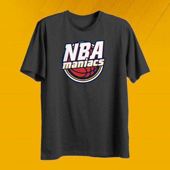 Camiseta nbamaniacs