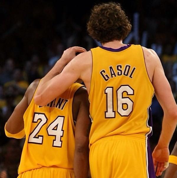 Kobe y Gasol