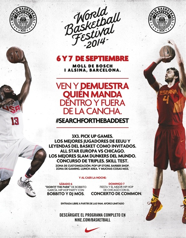 World Basketball Festival 2014 Barcelona