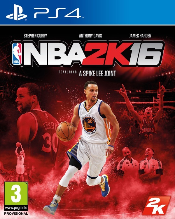 NBA 2K15 PS4 FOB CURRY SPA