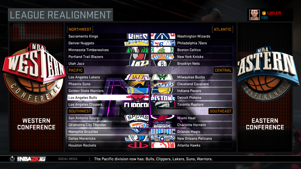 League Realignment