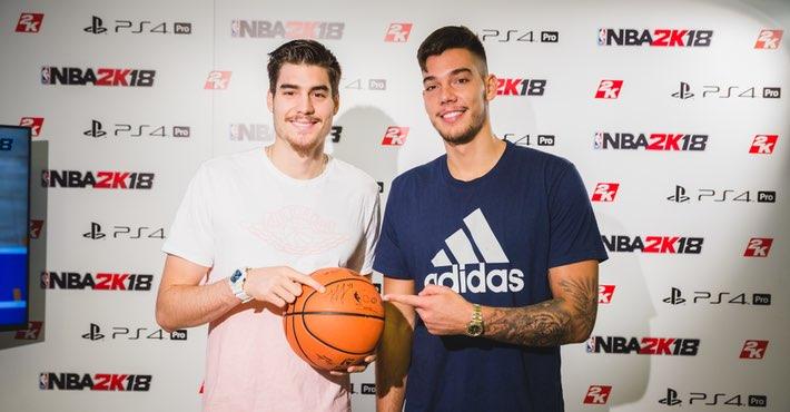 ¿Cuánto mide Willy Hernangómez? - Real height Hernangomez-NBA-2K18