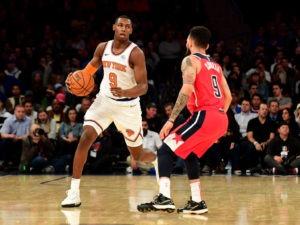 R.J. Barrett tendrá minutos como base en los Knicks