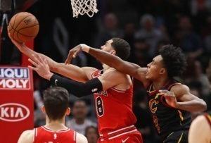 Enorme LaVine: 21 puntos en el último cuarto para dar el triunfo a Chicago