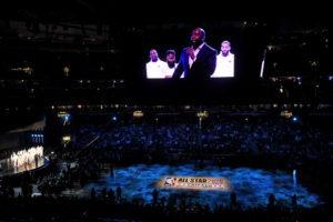 Magic, Jennifer Hudson y Common: homenaje a Kobe para abrir el All-Star Game