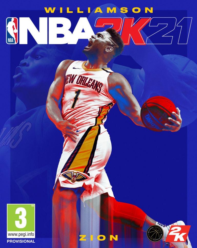Zion Williamson, portada de NBA 2K21 para la nueva generación de ...