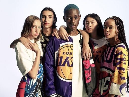Inditex se alía con la NBA para lanzar una colección de moda