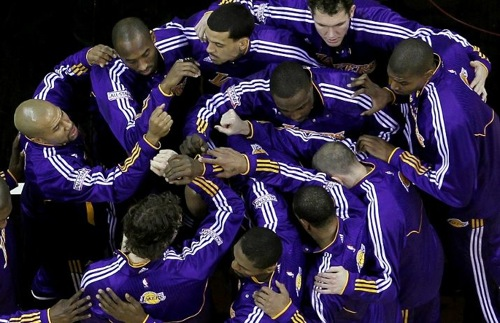 Lakers 2011. (Photo by Ronald Martinez/Getty Images)