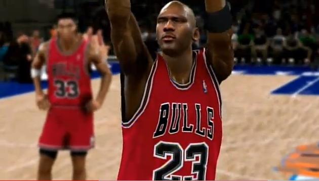 Michael Jordan en el Madison Square Garden