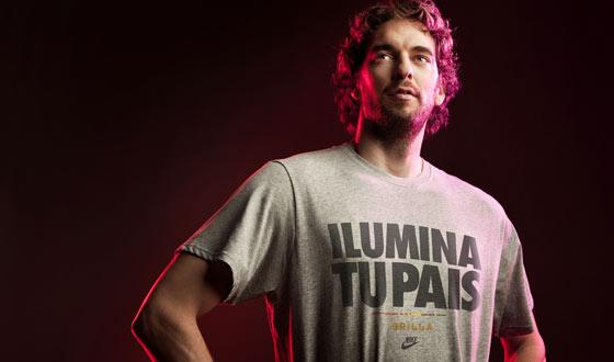 Pau Gasol ilumina España