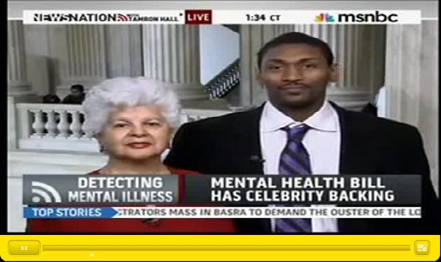 Ron Artest, con la salud mental